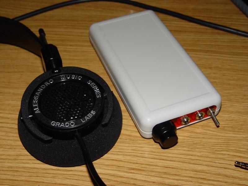 Amplificador de auscultadores Cmoy Dsc03518