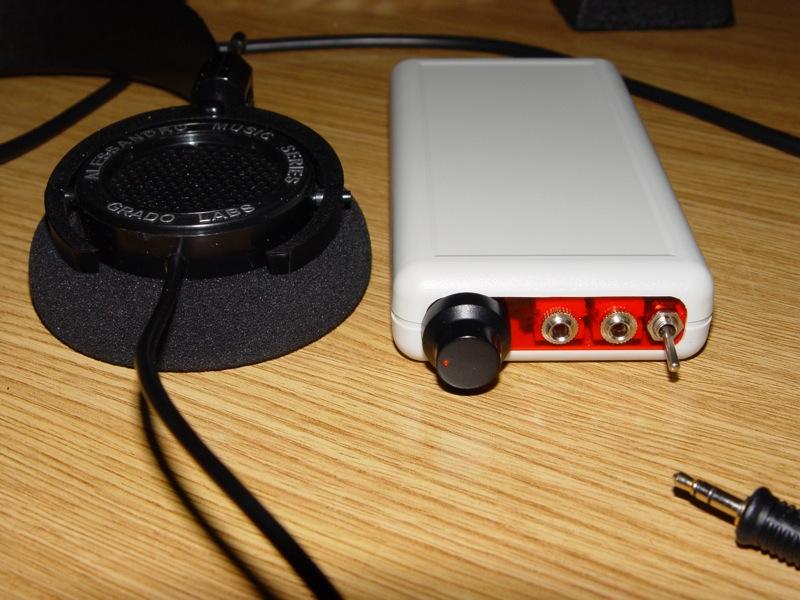 Amplificador de auscultadores Cmoy Dsc03519