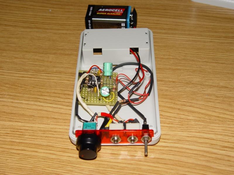 Amplificador de auscultadores Cmoy Dsc03520