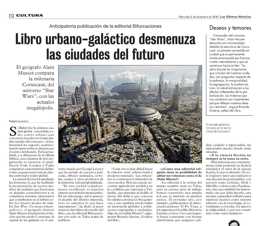 Star Wars. Un ensayo urbano-galáctico : liens 2018-111