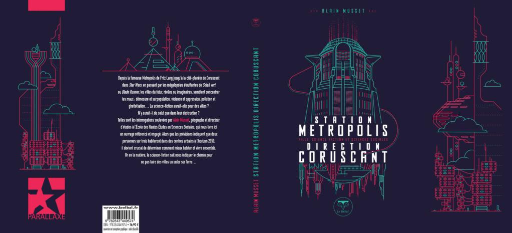 Station Metropolis-Direction Coruscant. En couverture Belial10
