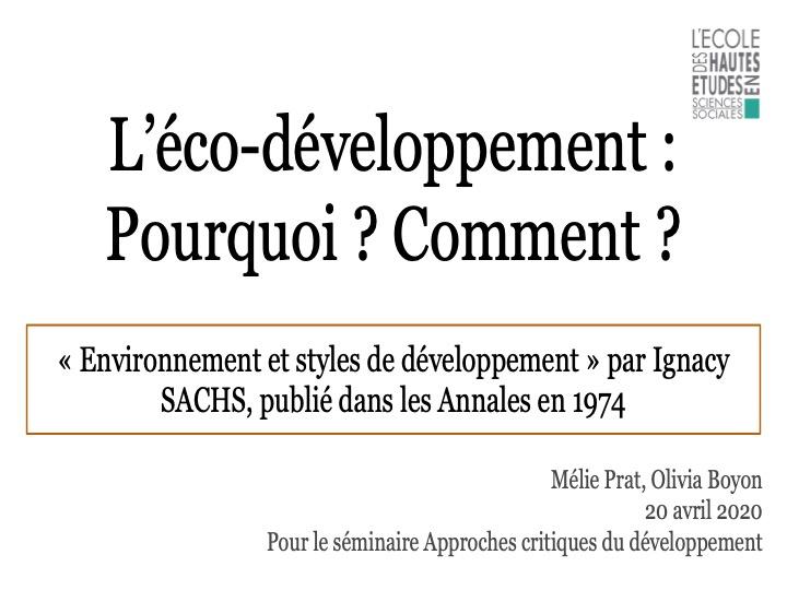 Le développement et ses approches9 Diapos52