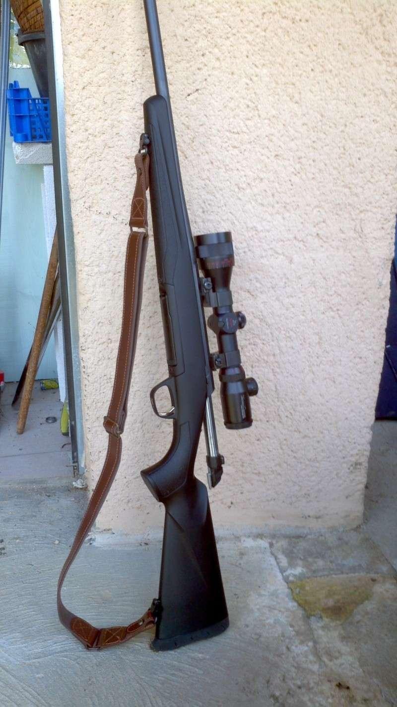 arme de chasse en synthetique 2013-039