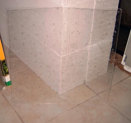 Confection d'un mur de mousse de java Mur310