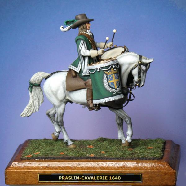 Timbalier de Praslin-Cavalerie, 1640. - Page 3 Timbal33