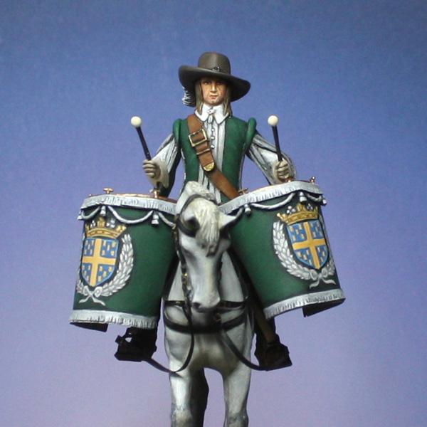 Timbalier de Praslin-Cavalerie, 1640. - Page 3 Timbal35