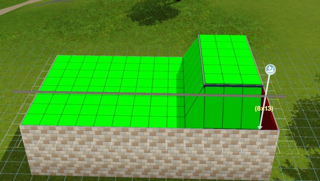 [Apprenti] Réalisation du toit en pente. Screen24