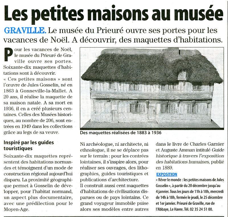 Les petites maisons de Jules GOSSELIN Gravil10
