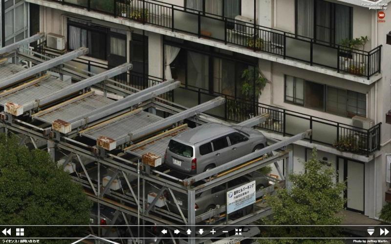 Gigapixels - Tokyo - Ça (aussi) c'est du pixel !! Parkin12