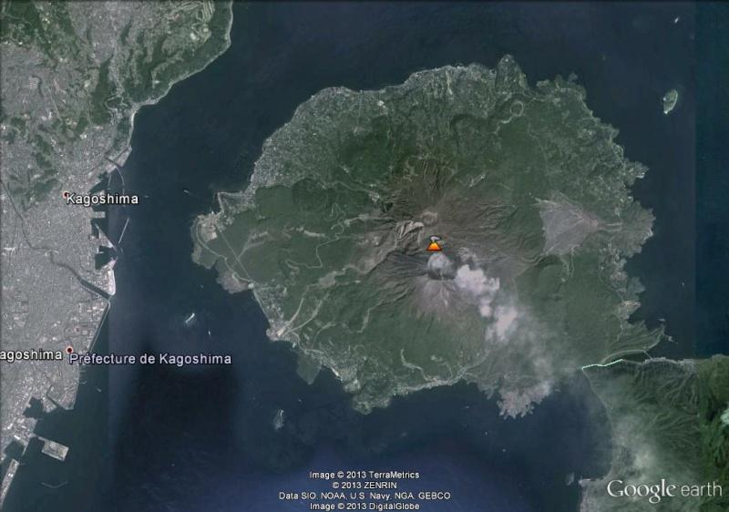 Kagoshima et la cendre du volcan Sakura-jima - Japon Volcan10