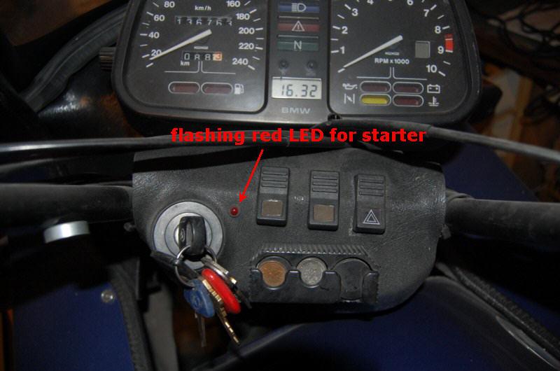 Starter warning light Led_st10