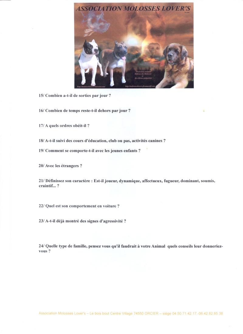 Formulaires de demande de prise en charge par Molosses Lover's Fiche_12
