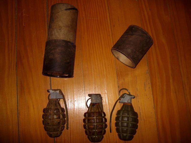 Grenade à fragmentation Mk II Alim0014