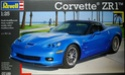 Corvette ZR-1 Atomic Orange Revell 1/25 Zr-110