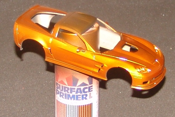 Corvette ZR-1 Atomic Orange Revell 1/25 Zr-1-310