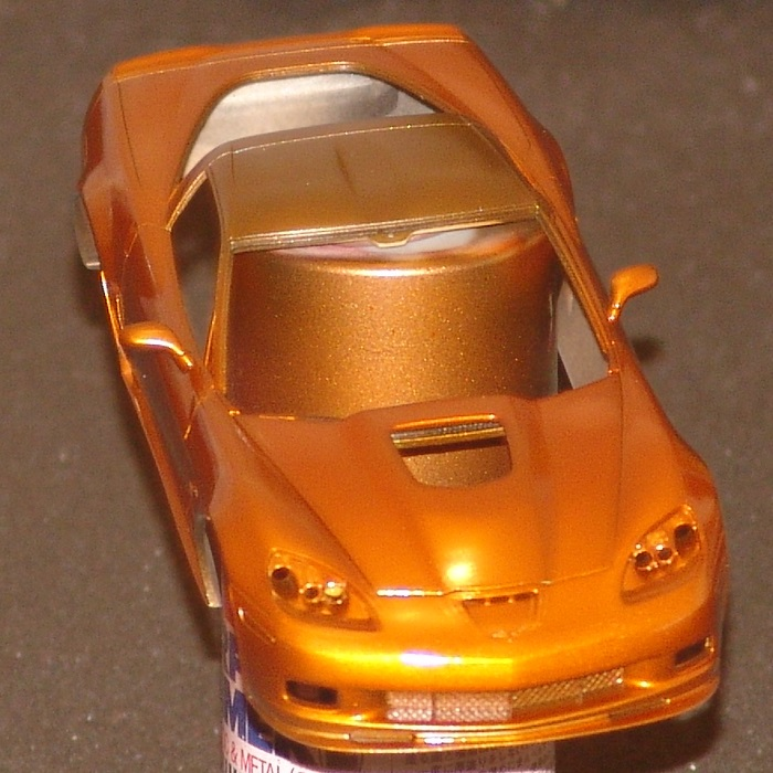 Corvette ZR-1 Atomic Orange Revell 1/25 Zr-1-410