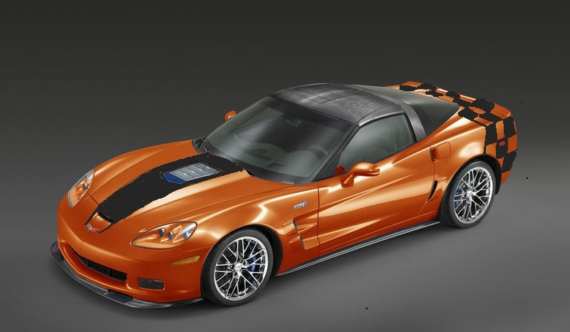 Corvette ZR-1 Atomic Orange Revell 1/25 Zr1ora10