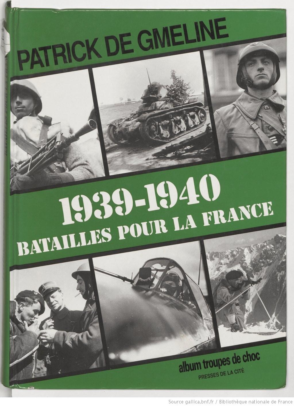 Bibliographie de la campagne de France 1939-110
