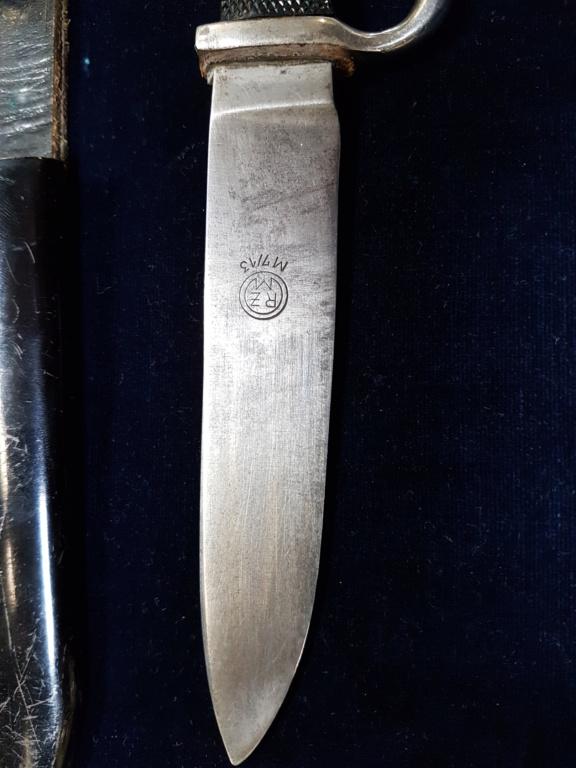 Dague Jeunesses Hitlériennes trouvée chez un petit antiquaire de province 20180410