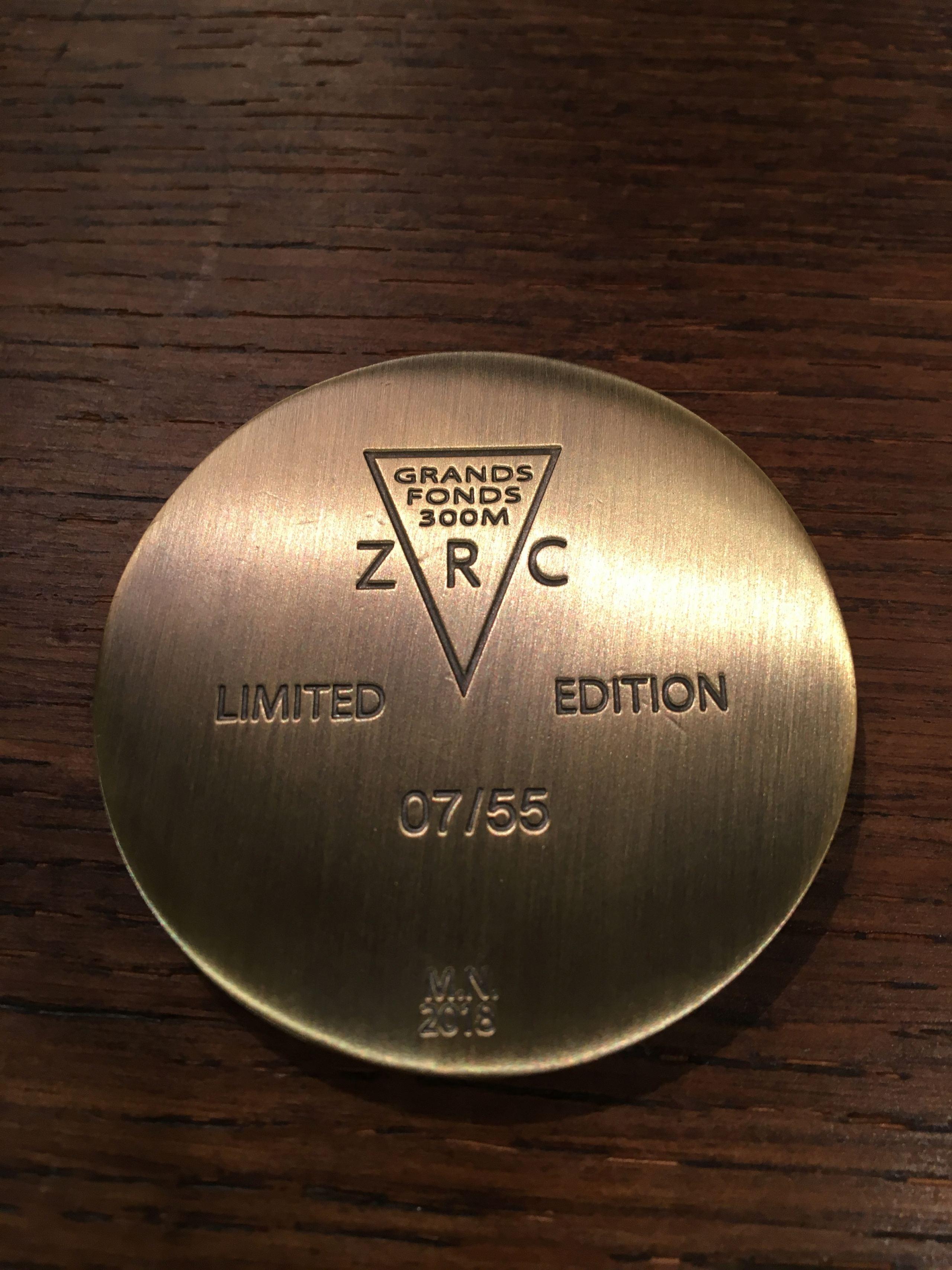 ZRC Grands fonds - Série limitée Nageur de combat H11