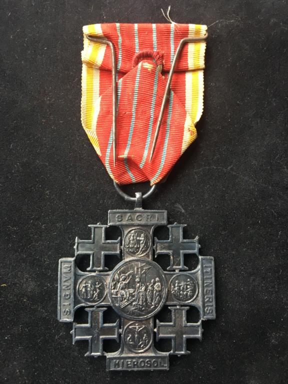 Croix de Jérusalem - Vatican Img_2823