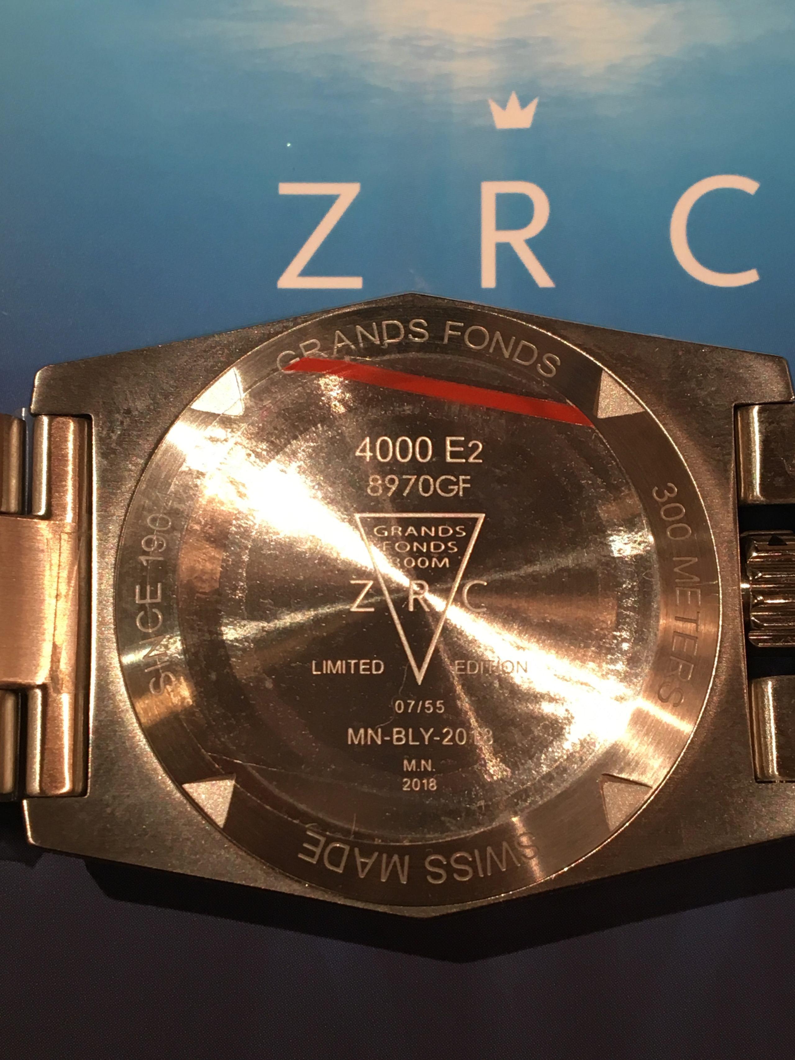 ZRC Grands fonds - Série limitée Nageur de combat P11
