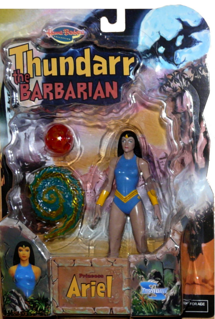 AROK le barbare - THUNDARR the barbarian Ariel10