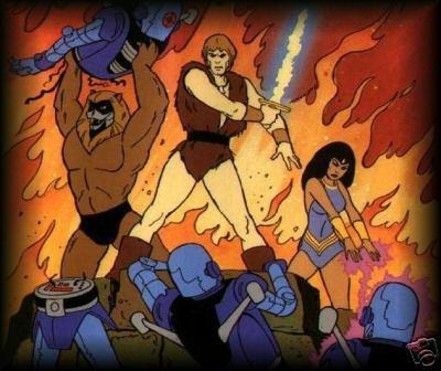 AROK le barbare - THUNDARR the barbarian Thunda10