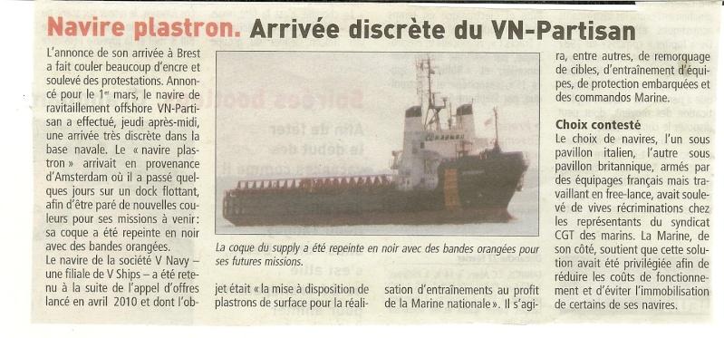 [Les ports militaires de métropole] Port de Brest - TOME 1 - Page 20 Partis10