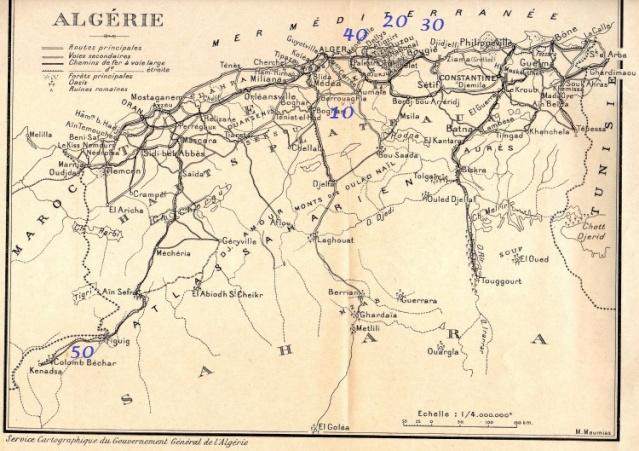 LE PUTSCH  21 AVRIL 1961- Récit d'un commando du 40 Algeri10