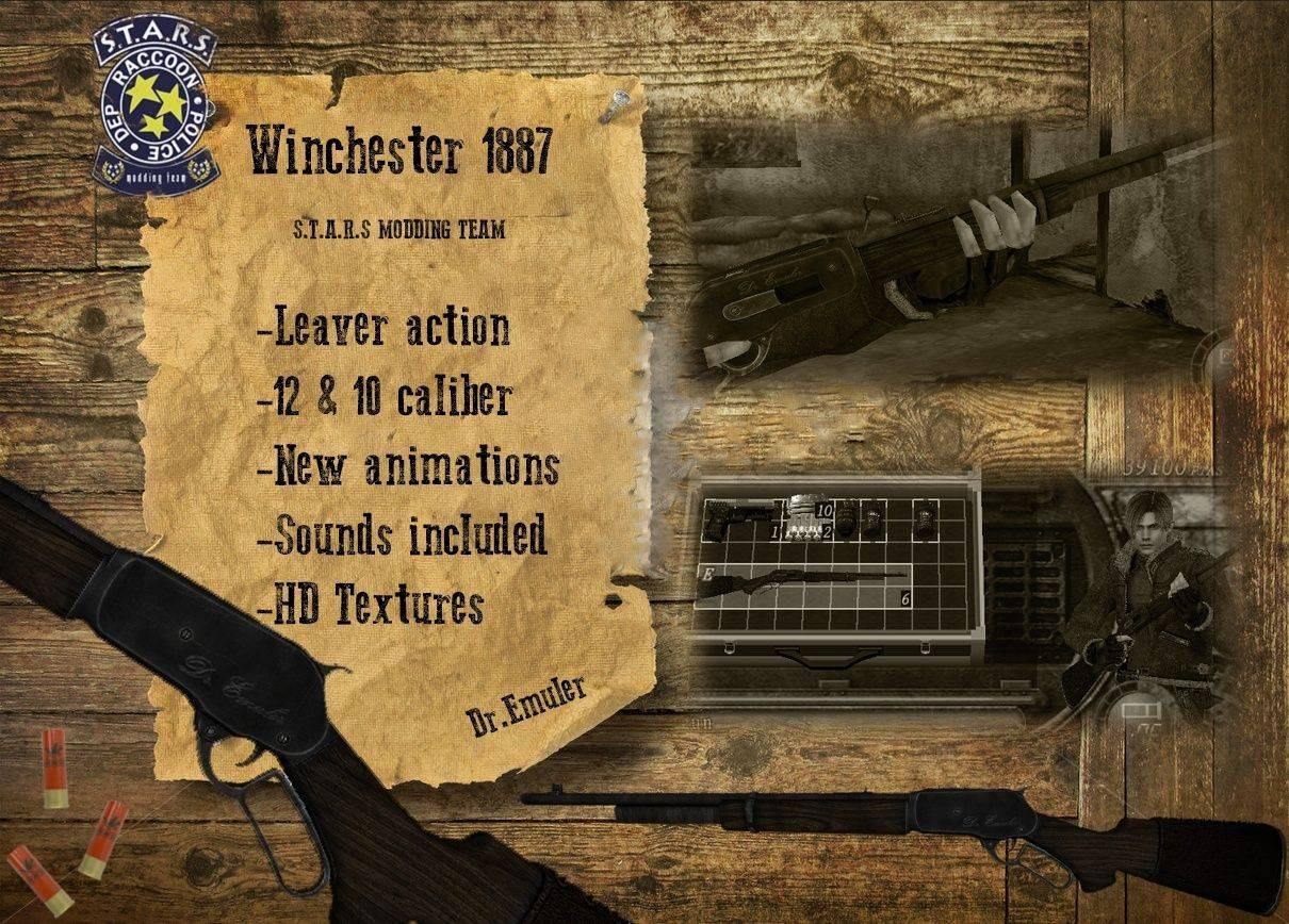 Winchester 1887 Render10