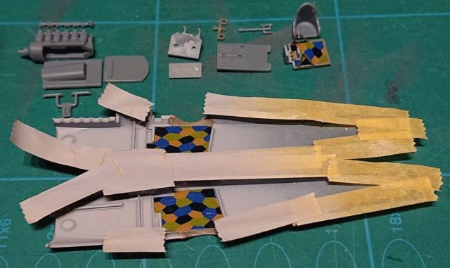 Fokker D.VII OAW Eduard 1/72 Fokker16