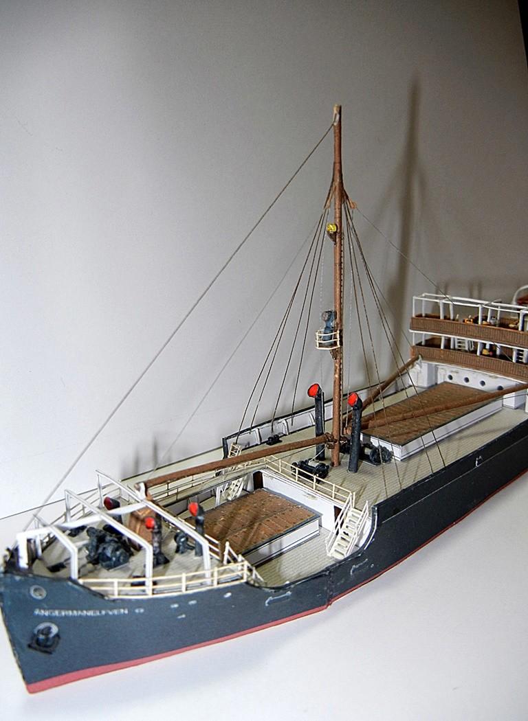 Erzfrachter Angemanelven 1:250 Kartonmodell Paper Shipwright - Seite 5 Angema17
