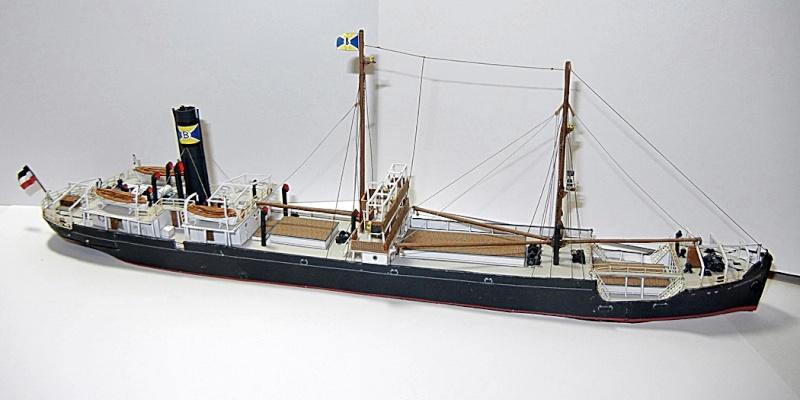 Erzfrachter Angemanelven 1:250 Kartonmodell Paper Shipwright - Seite 5 Angema24