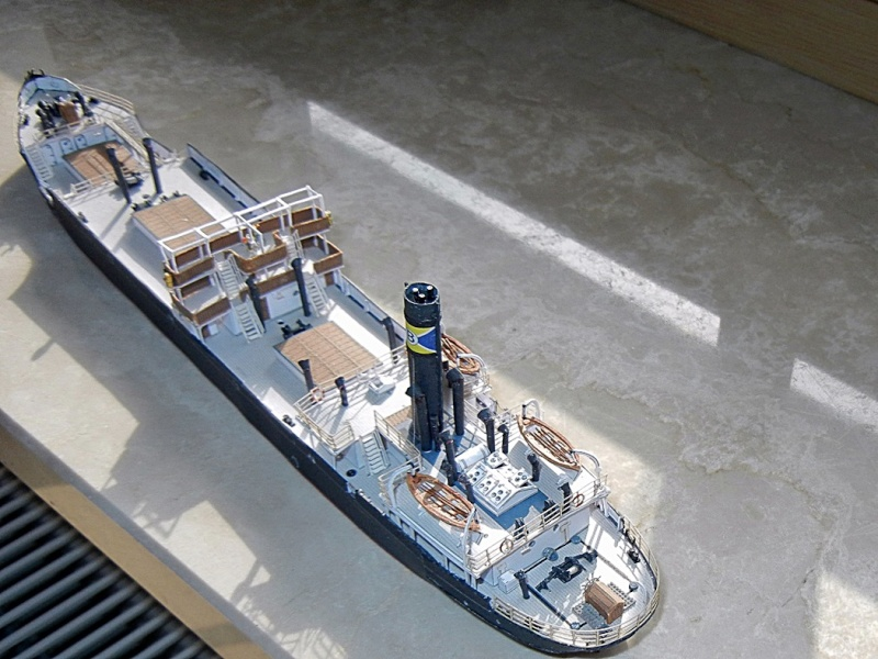 Erzfrachter Angemanelven 1:250 Kartonmodell Paper Shipwright - Seite 5 Angerm60