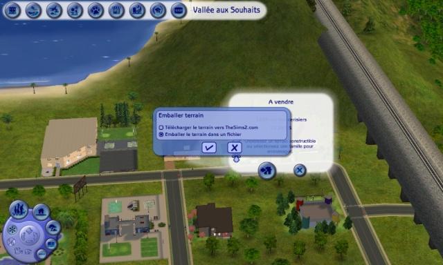 Sims 2 : Tutoriel pour emballer vos terrains Tuto0511
