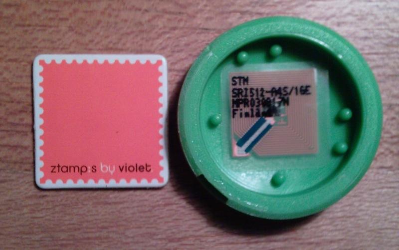 A l'intérieur d'un Nano:ztag... Puce-n10