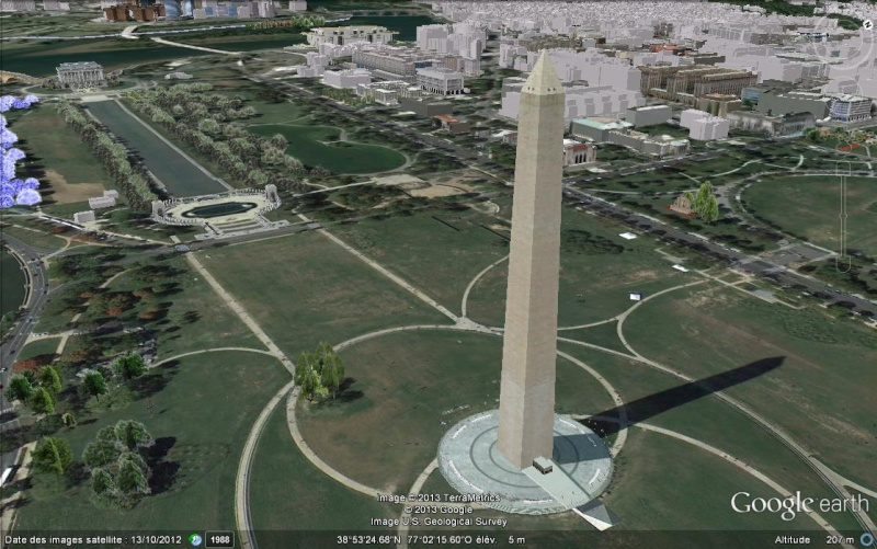Washington Memorial -Washington –District of Columbia -USA 3d10