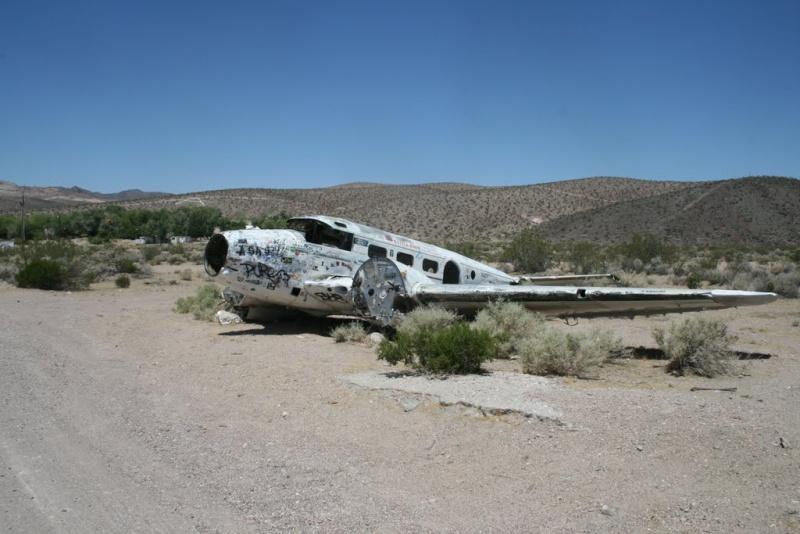 Crash d'avion - Beatty - Nevada - USA 56250410