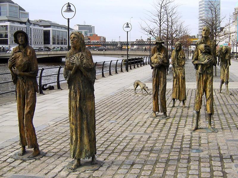 famine - Famine Memorial - Dublin - Irlande 90926910