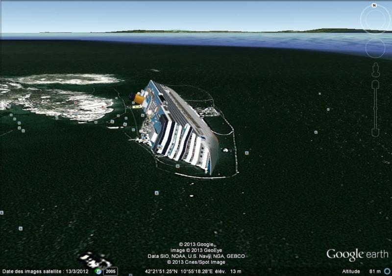L'épave du Costa-Concordia. Un paquebot géant s'échoue en Italie - Page 4 Costa10