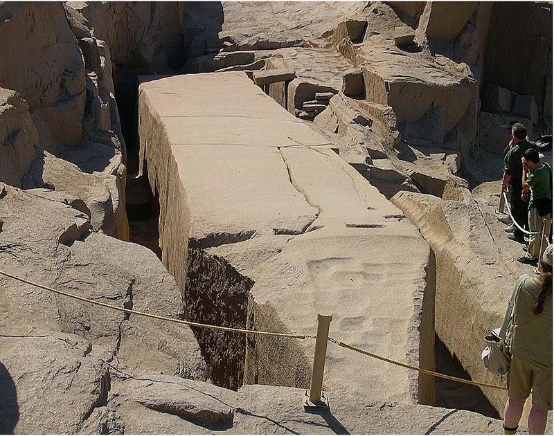Obélisque inachevé - Assouan - Egypte Obelis10