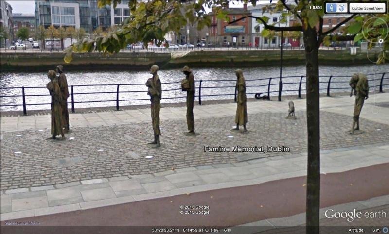 famine - Famine Memorial - Dublin - Irlande Sv_dub10
