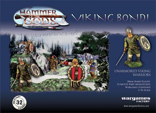 Bandes SAGA avec des figurines plastiques Viking12