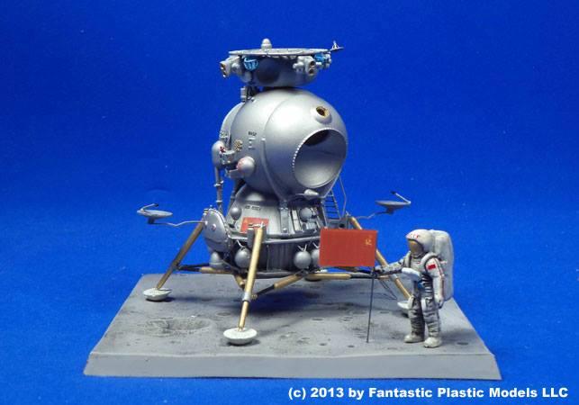 Un nouveau module lunaire sovietique -LK- au 1/48 chez fantastic-plastic Lk10
