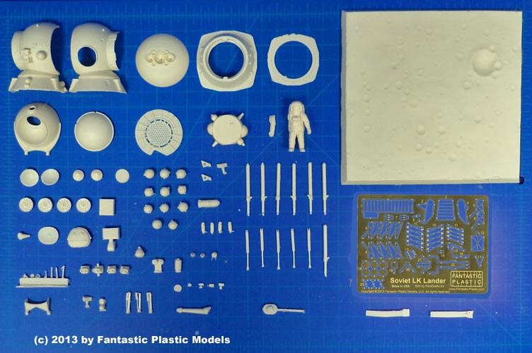 Un nouveau module lunaire sovietique -LK- au 1/48 chez fantastic-plastic Lkland10