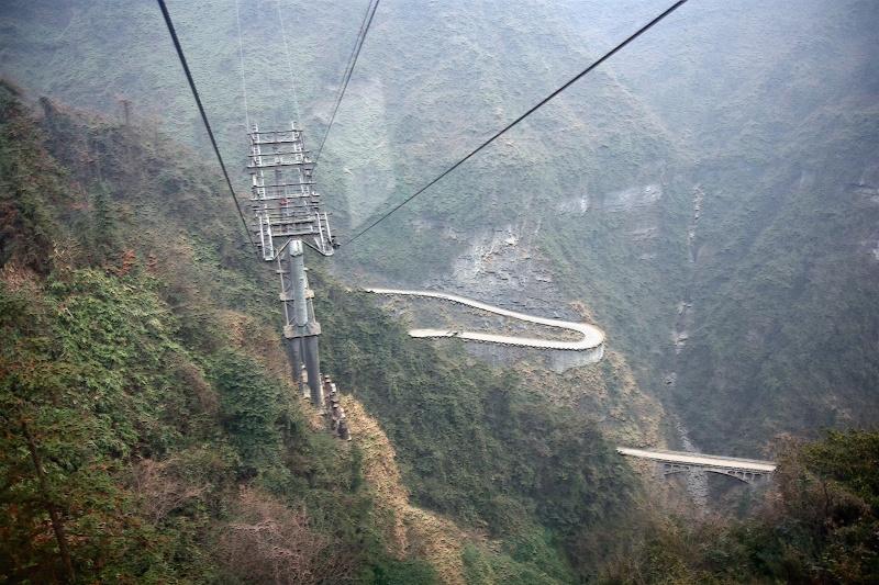 Parc National du Mont Tianmen, Hunan - Chine Tian2j10