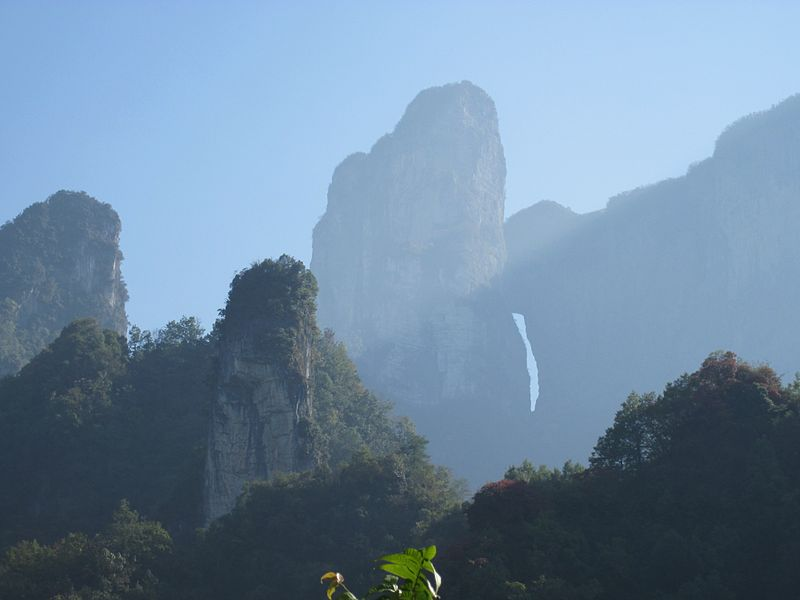 Parc National du Mont Tianmen, Hunan - Chine Tian_m11