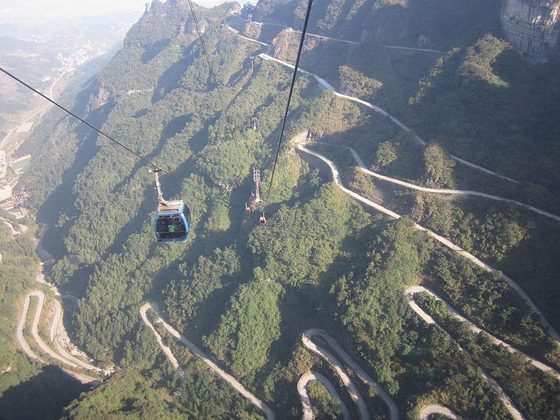 Parc National du Mont Tianmen, Hunan - Chine Tian_m12