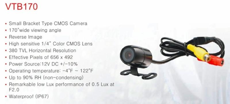 Caméra et écran de contrôle Captur13